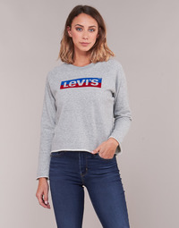 Textil Mulher Sweats Levi's GRAPHIC GYM CREW Box