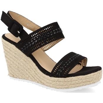 Sapatos Mulher Alpargatas Ainy BL101 Negro
