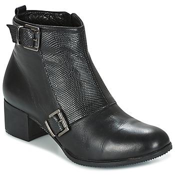 Sapatos Mulher Botins Andrea Conti CASTEL Preto