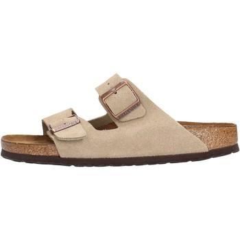 Sapatos Homem Chinelos Birkenstock - Arizona beige 951303 BEIGE