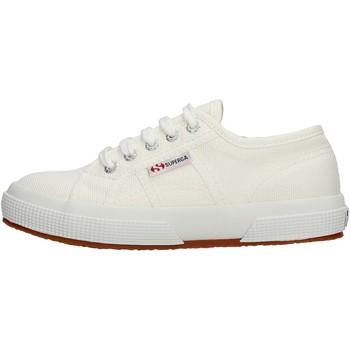 Sapatos Rapariga Sapatilhas Superga - 2750 j cot classic bianco S0003C0 2750 901 BIANCO