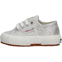 Sapatos Rapariga Sapatilhas Superga - 2750 lameb grigio S0028T0 2750 031 GRIGIO