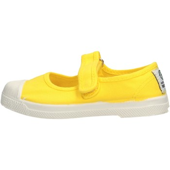 Sapatos Rapariga Sapatilhas de ténis Natural World - Scarpa velcro giallo 476-504 GIALLO