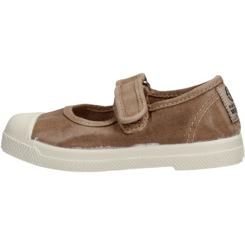 Sapatos Rapariga Sapatilhas de ténis Natural World - Scarpa velcro beige 476E-621