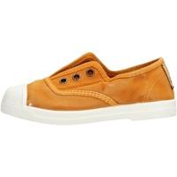 Sapatos Rapaz Sapatilhas de ténis Natural World - Scarpa elast senape 470E-646 SENAPE