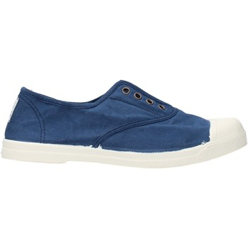 Sapatos Rapaz Sapatilhas de ténis Natural World - Scarpa lacci blu 102-548 BLU