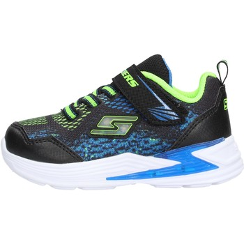 Sapatos Rapaz Sapatilhas Skechers - Derlo nero/blu 90563N BBLM NERO