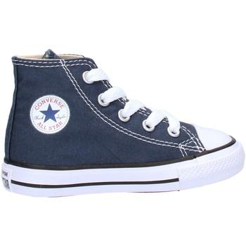 Sapatos Rapaz Sapatilhas de cano-alto Converse - Ct as hi blu 7J233C BLU