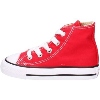 Sapatos Rapaz Sapatilhas de cano-alto Converse 7J234, Scarpe Sportive Alte Bambini, Rosso ROSSO