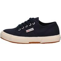 Sapatos Rapaz Sapatilhas Superga - 2750 j cot classic blu S0003C0 2750 933 BLU