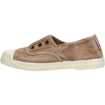 Sapatos Rapaz Sapatilhas Natural World - Scarpa elast beige 470E-621 BEIGE