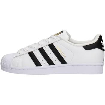 Sapatos Rapaz Sapatilhas adidas Originals - Superstar j bianco C77154 BIANCO