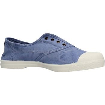 Sapatos Rapaz Sapatilhas de ténis Natural World - Sneaker celeste 102E-690 CELESTE