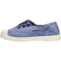 Sapatos Rapaz Sapatilhas Natural World - Scarpa elast celeste 470E-690 BLU