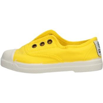 Sapatos Rapaz Sapatilhas Natural World - Scarpa lacci giallo 470-504 GIALLO
