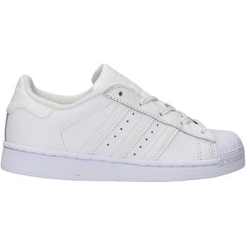 Sapatos Rapaz Sapatilhas adidas Originals - Superstar c bianco BA8380 BIANCO