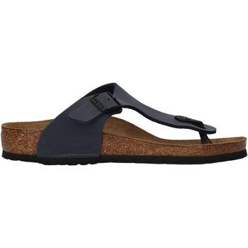 Sapatos Rapaz Chinelos Birkenstock - Gizeh blu 345443