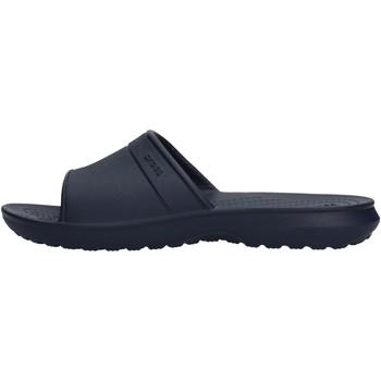 Sapatos Rapaz Sapatos aquáticos Crocs - Classic slide k blu 204981 BLU
