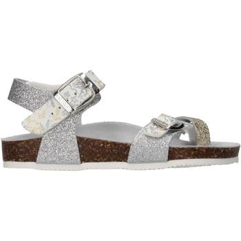 Sapatos Rapariga Sandálias Gold Star - Sandalo platino 8896L