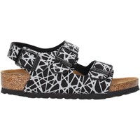 Sapatos Rapaz Sandálias Birkenstock - Milano nero 1012609 NERO