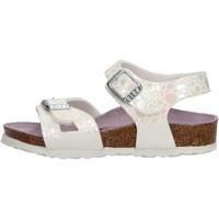 Sapatos Rapariga Sandálias Birkenstock - Rio metallic bianco 1008197