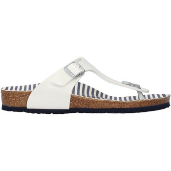 Sapatos Rapariga Chinelos Birkenstock - Gizeh bianco 1012724 BIANCO