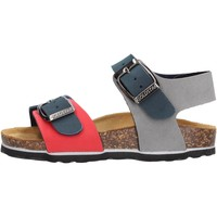 Sapatos Rapaz Sandálias Gold Star - Sandalo blu/rosso 1805B BLU