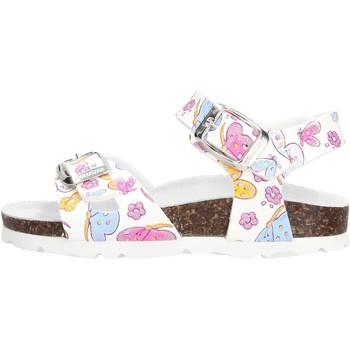 Sapatos Rapariga Sandálias Gold Star - Sandalo bco fantasia 1846E BIANCO
