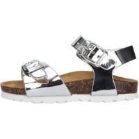 Sapatos Rapariga Sandálias Gold Star - Sandalo argento 1846TT ARGENTO