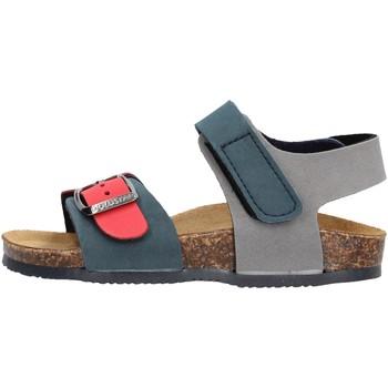 Sapatos Rapaz Sandálias Gold Star - Sandalo blu/rosso 8804 BLU