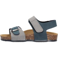 Sapatos Rapaz Sandálias Gold Star - Sandalo grigio/blu 8804 BLU