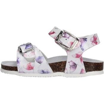 Sapatos Rapariga Sandálias Gold Star - Sandalo ghiaccio 8846I BIANCO