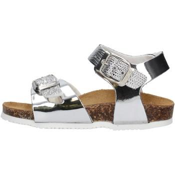 Sapatos Rapariga Sandálias Gold Star - Sandalo argento 8846TT ARGENTO
