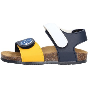 Sapatos Rapaz Sandálias Gold Star - Sandalo blu /giallo/bco 8852 MULTICOLORE