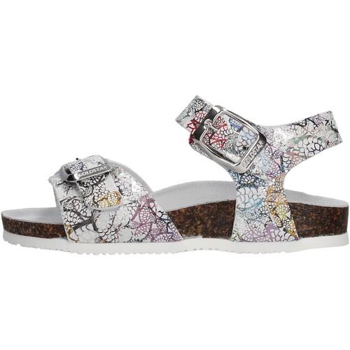 Sapatos Rapariga Sandálias Gold Star - Sandalo ghiaccio 8846Y ARGENTO