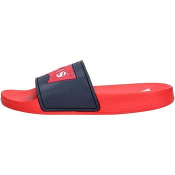 Sapatos Rapaz chinelos Levi's - Pool blu/rosso VPOL0020S BR BLU