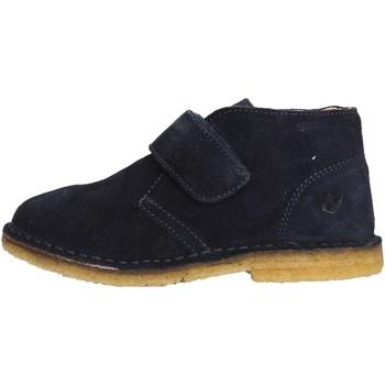 Sapatos Rapaz Botas baixas Naturino - Polacchino blu CHOCO BLU