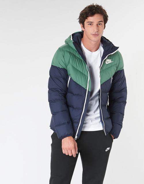 Textil Homem Quispos Nike M NSW DWN FILL WR JKT HD Marinho / Verde