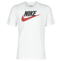 Textil Homem T-Shirt mangas curtas Nike M NSW TEE ICON FUTURA Branco