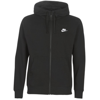 Textil Homem Sweats Nike M NSW CLUB HOODIE FZ BB Preto