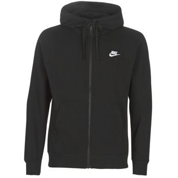 Textil Homem Sweats Nike M NSW CLUB HOODIE FZ BB Preto