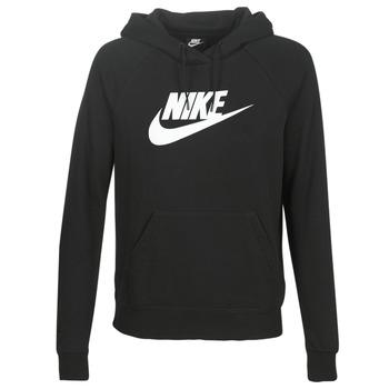 Textil Mulher Sweats Nike W NSW ESSNTL HOODIE PO  HBR Preto