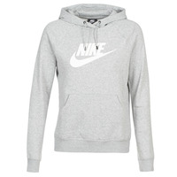 Textil Mulher Sweats Nike W NSW ESSNTL HOODIE PO  HBR Cinza