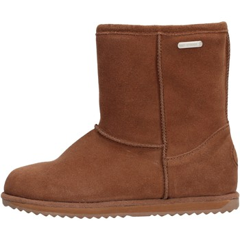 Sapatos Rapaz Botas de neve EMU - Stivale marrone camoscio K10773 MARRONE
