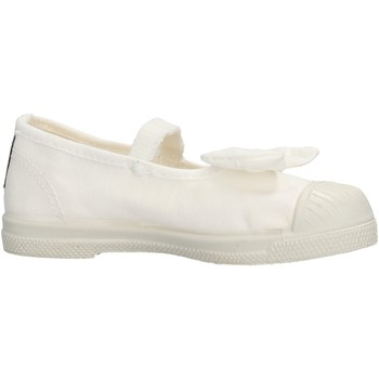 Sapatos Rapariga Sapatilhas Natural World - Ballerina bianco 473-505
