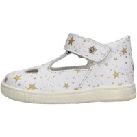 Sapatos Rapariga Sandálias Falcotto - Occhio di bue bianco/plt KOS BIANCO