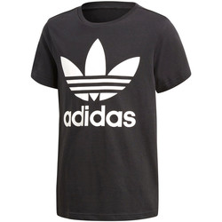 Textil Rapaz T-Shirt mangas curtas adidas Originals - T-shirt nero CF8545