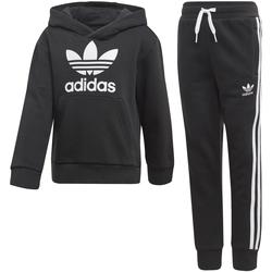 Textil Rapaz Todos os fatos de treino adidas Originals - Tuta nero/bco DV2847