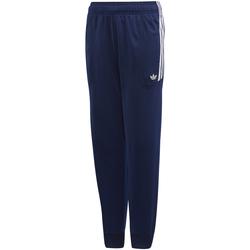 Textil Rapaz Calças de treino adidas Originals - Pantalone blu/bco DW3864