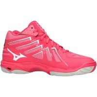 Sapatos Mulher Sapatilhas Mizuno - Wave hurricane mid wos rosa V1GC1745-61